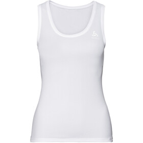 Odlo Active F-Dry L Top Crew Neck Singlet Dames, white